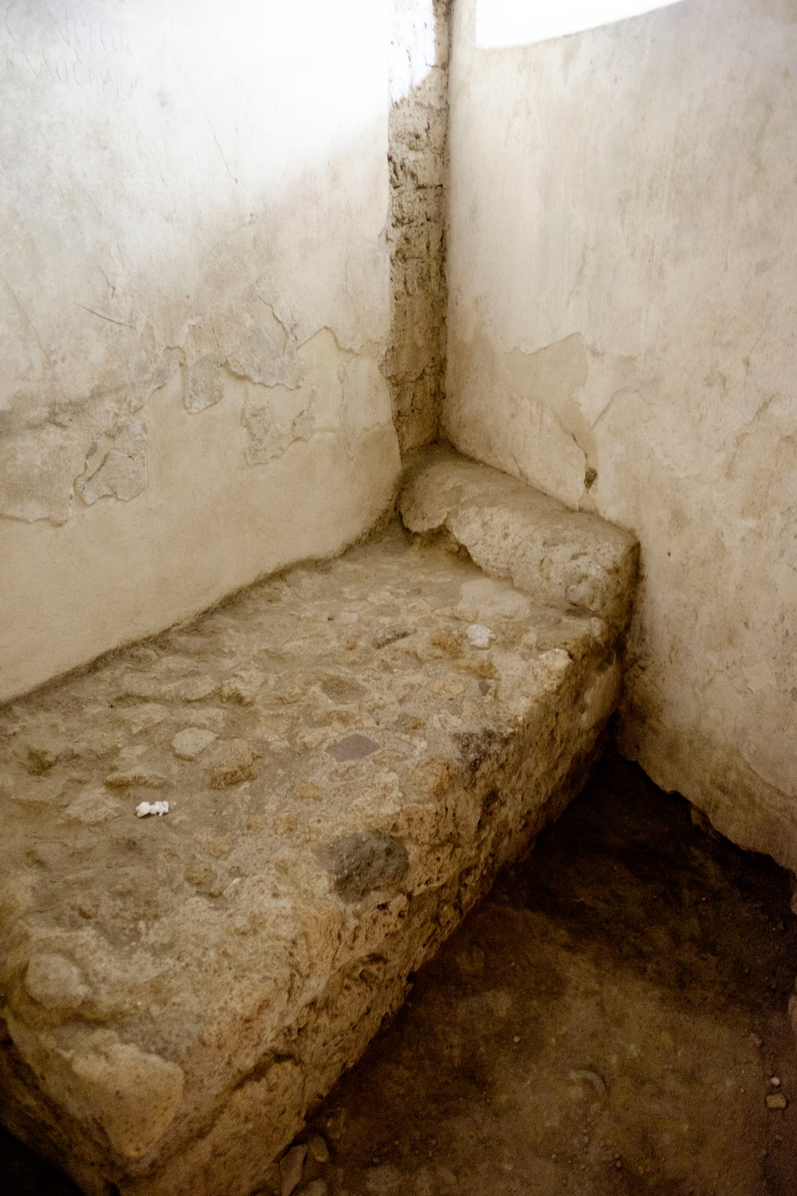"A ""bed"" inside the brothel"