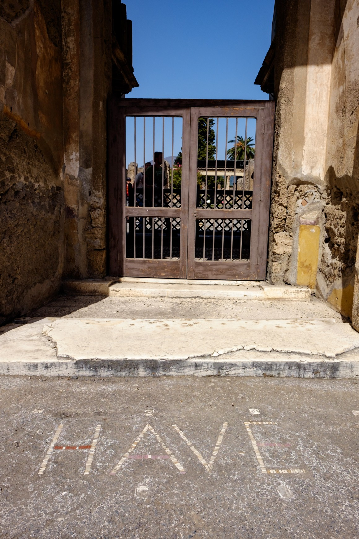 Entrance to House of the Faun