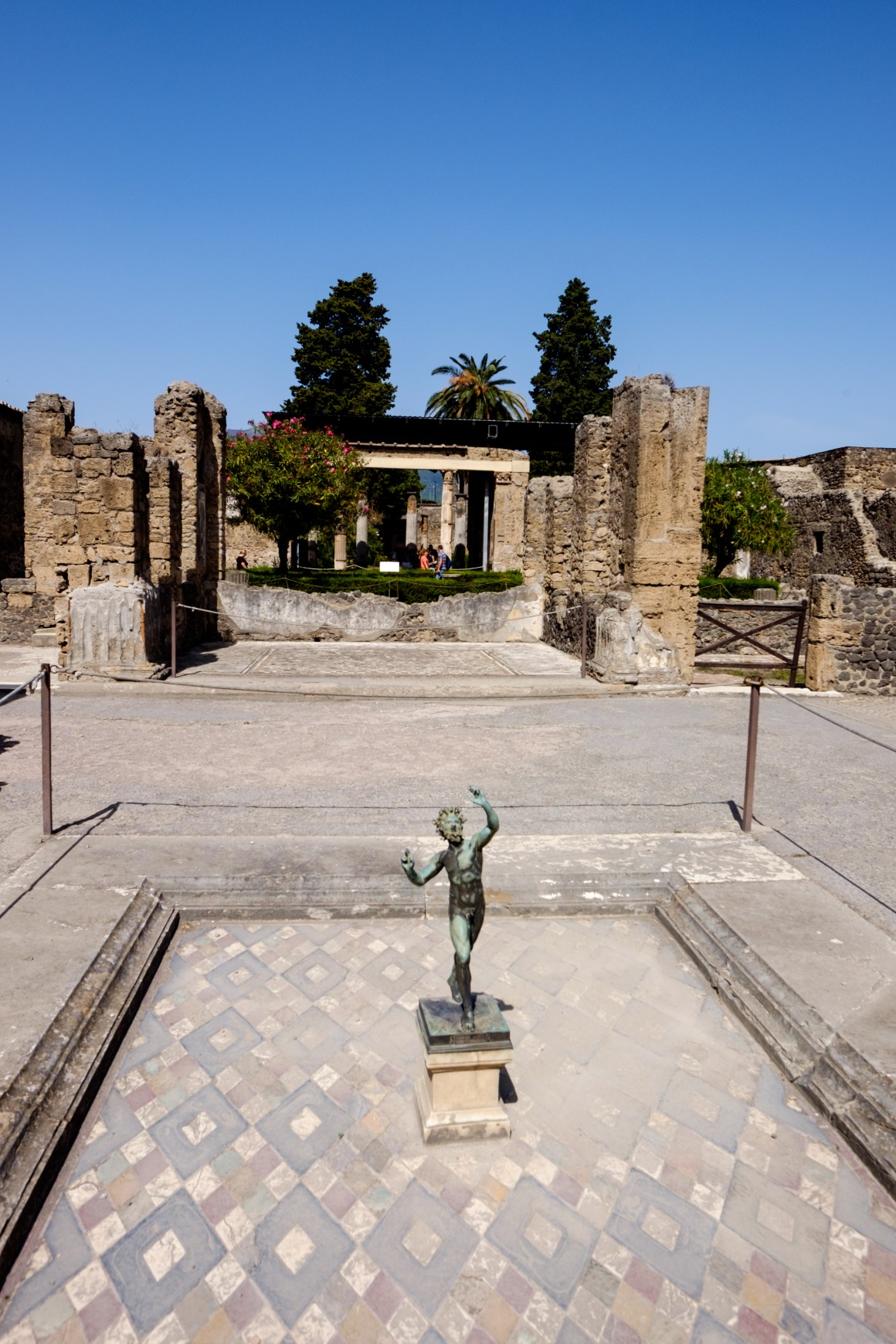 Courtyard of House of the Faun